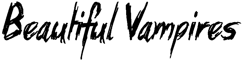 Beautiful Vampires Font