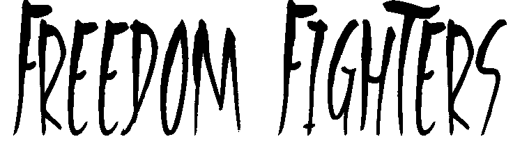 Freedom Fighters Font