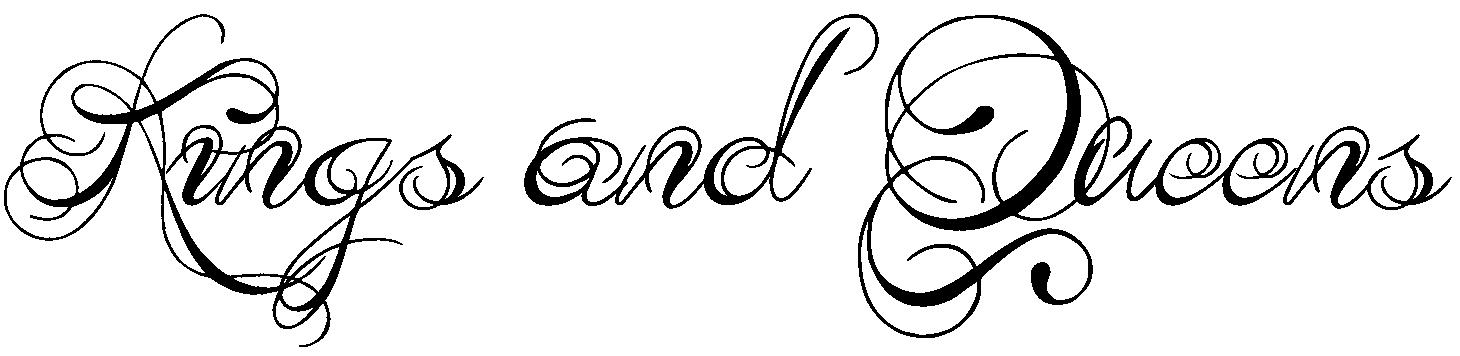 Tattoo fonts tribal typefaces cursive script
