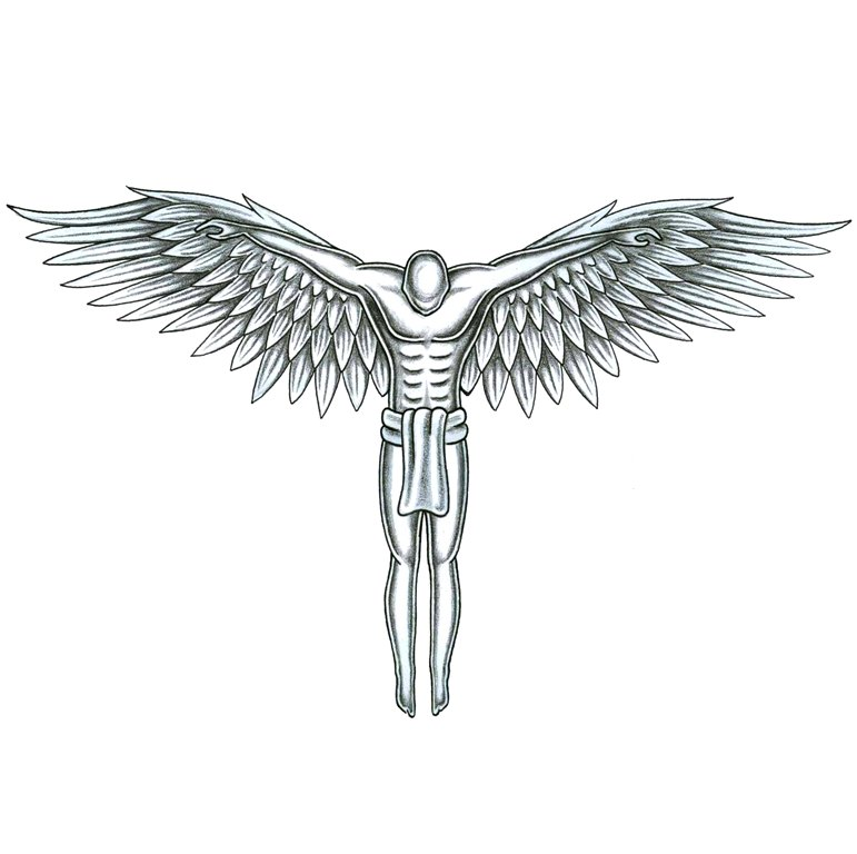 a7433f7e8e899 Angel Tattoos, Tattoo Designs Gallery - Unique Pictures and Ideas