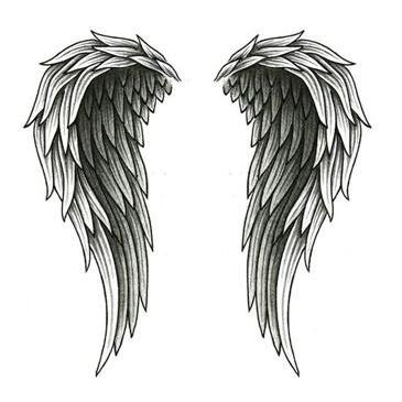 Go Back > Gallery For > Tattoo Designs Angel Wings