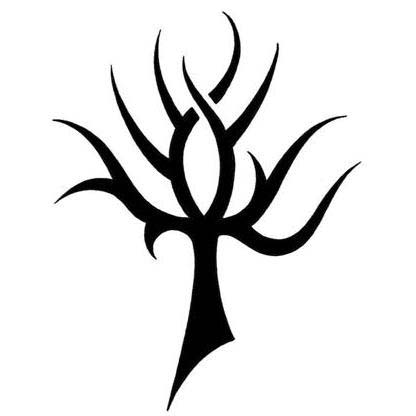 Tribal Tree Tattoo