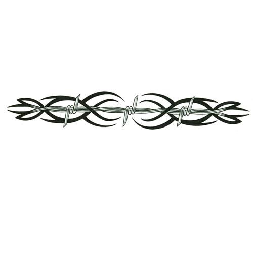 tribal armband tattoo barbed wire Tattoo Design Armband   and TattooWoo.com Tribal Wire Barbed