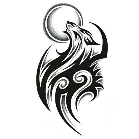 female tattoos designs on Wolf Tattoos Designs on Wolf 14 9 95 Tattoo Designs Gallery Of Unique ...