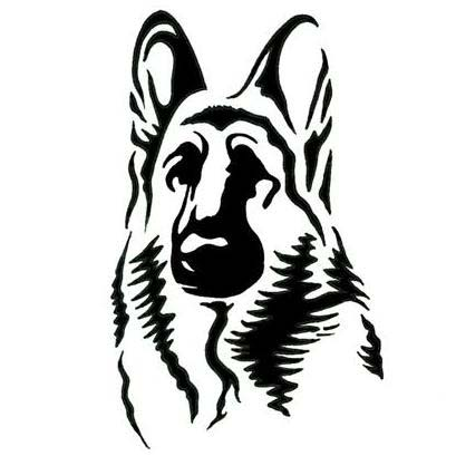 German Shepherd Dog Tattoo Design Tattoowoo Com