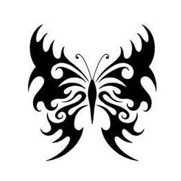 gothic butterfly tattoos bing images. Black Bedroom Furniture Sets. Home Design Ideas