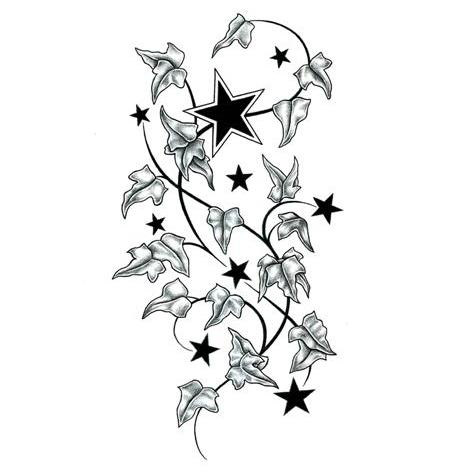 star 45 tattoo designs gallery of unique printable tattoos pictures and ideas. Black Bedroom Furniture Sets. Home Design Ideas