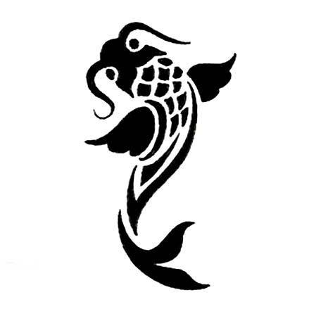 koi fish stencil gallery koi fish stencil
