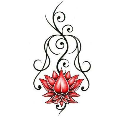 henna tattoos designs on Lotus Tattoo Design - TattooWoo.com