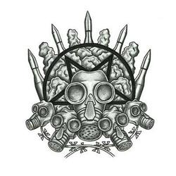 impaled nazarene drawing tattoo design. Black Bedroom Furniture Sets. Home Design Ideas