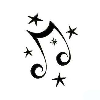 music note tattoo stencil wwwpixsharkcom images