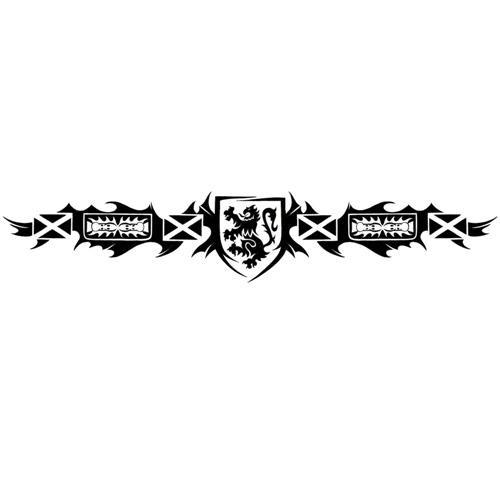 Scottish Tribal Armband Tattoo Designs