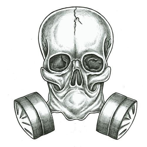 gas mask skull tattoos pic 7 www tattoopins com 37 kb 500 x 500 px