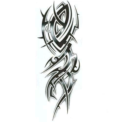top spike dragon tattoo images for pinterest tattoos. Black Bedroom Furniture Sets. Home Design Ideas
