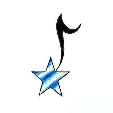 star music note tattoo design tattoowoocom