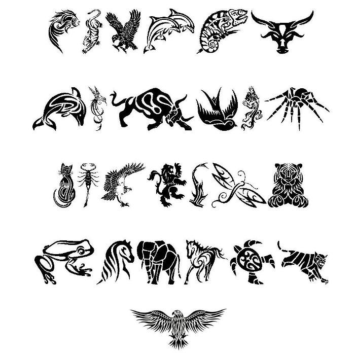 tribal animals tattoo designs Tribal Tribal animals tattoo Tattoo Animal