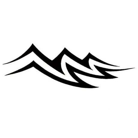 Tribal Aquarius Zodiac Sign Tattoo Design  TattooWoocom