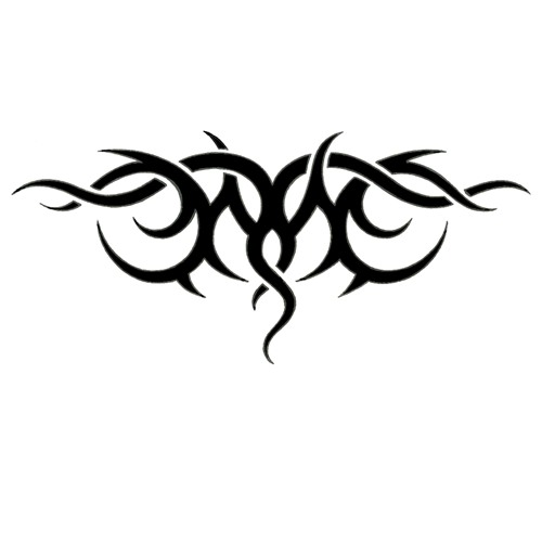 Tribal Upper Back Tattoo Designs