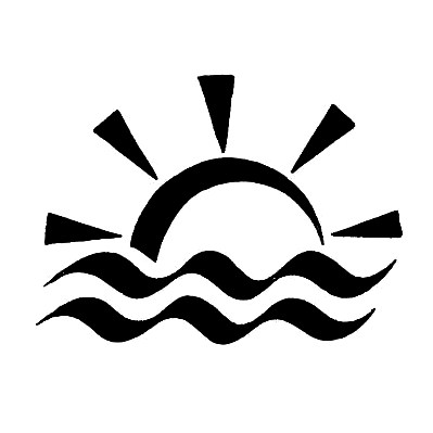 Aquarius Symbol And Tribal Sun Tattoo Design Tattoowoo