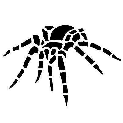 866166261 Spider Tattoo Design - TattooWoo.com