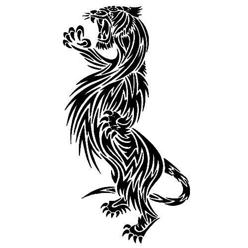vicious tribal tiger tattoo design. Black Bedroom Furniture Sets. Home Design Ideas